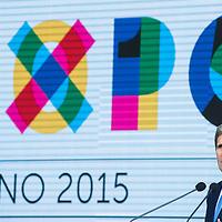 Foto Piero Cruciatti / LaPresse<br /> 17-10-2015 Milano, Italia<br /> Attualit&agrave; <br /> ll Segretario di Stato USA John Kerry a Expo Milano 2015<br /> Nella Foto: John Kerry<br /> Photo Piero Cruciatti / LaPresse<br /> 17-10-2015 Milan, Italy<br /> Italian News<br /> US Secretary of State John Kerry at Expo Milano 2015<br /> In the Photo: John Kerry