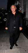 01.JULY.2009 - LONDON<br /> <br /> PHILLIP GREEN ARRIVING AND LEAVING SCETCH NIGHT CLUB, MAYFAIR FOR THE LAUNCH OF BETH DITTO'S NEW CLOTHES RANGE FOR EVANS SHOPS THAT SHE CO-DESIGNED.<br /> <br /> BYLINE: EDBIMAGEARCHIVE.COM<br /> <br /> *THIS IMAGE IS STRICTLY FOR UK NEWSPAPERS &amp; MAGAZINE ONLY*<br /> *FOR WORLDWIDE SALES &amp; WEB USE PLEASE CONTACT EDBIMAGEARCHIVE - 0208 954 5968*