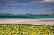 The islands of Fuday & Eriskay as seen from the north end of Barra, Outer Hebrides.