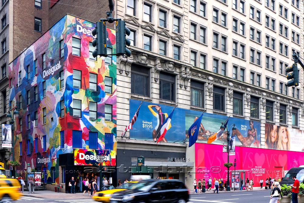 Street of Manhattan, NYC.