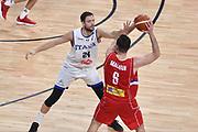 Filippo Baldi Rossi<br /> Nazionale Italiana Maschile Senior<br /> Eurobasket 2017 - Final Phase - 1/4 Finals<br /> Italia Serbia Italy Serbia<br /> FIP 2017<br /> Istanbul, 13/09/2017<br /> Foto G.Ciamillo / Ciamillo - Castoria