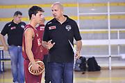 DESCRIZIONE : Viadana Trofeo del 50' esimo Lega A 2014-15 Virtus Roma vs Umana Venezia<br /> GIOCATORE : Bolpin Riccardo<br /> CATEGORIA : Pregame <br /> SQUADRA : Umana Venezia<br /> EVENTO :Torneo del 50'esimo<br /> GARA : Virtus Roma  vs  Umana Venezia<br /> DATA : 12/09/2014 <br /> SPORT : Pallacanestro <br /> AUTORE : Agenzia Ciamillo-Castoria/I.Mancini<br /> Galleria : Lega Basket A 2014-2015 Fotonotizia : Torneo del 50'esimo Lega A 2014-15 Virtus Roma vs Umana Venezia <br /> Predefinita :