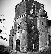 Nossa Senhora do Rosario.<br /> A fortified Church, Our Lady of the Rosary, in Old Goa. <br /> 1968