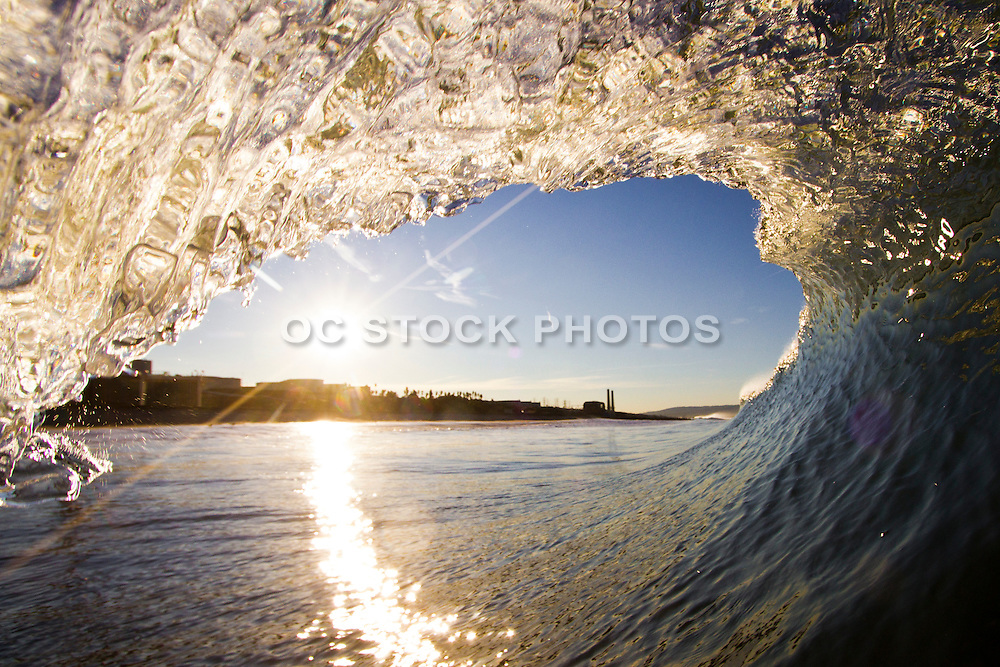 Waves of Manhattan Beach California