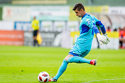 Marko Pridigar of NK Rudar Velenje during football match between NK Rudar Velenje and Maribor in 1st Round of Prva liga Telekom Slovenije 2018/19, on July 22, 2018 in Mestni stadion ob Jezeru, Velenje , Slovenia. Photo by Ziga Zupan / Sportida