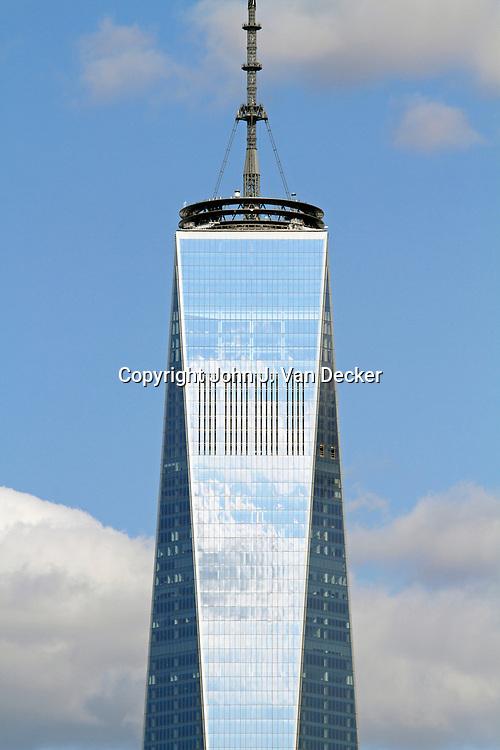 Freedom Tower and the Lower Manhattan skyline, New York City