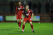 Mitch Hancox of Crawley Town during the Sky Bet League 2 match between Crawley Town and Stevenage at the Checkatrade.com Stadium, Crawley, England on 26 December 2015. Photo by Phil Duncan.