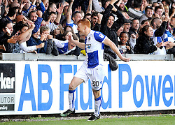 Rory Gaffney of Bristol Rovers celebrates his goal - Mandatory by-line: Neil Brookman/JMP - 09/09/2017 - FOOTBALL - Memorial Stadium - Bristol, England - Bristol Rovers v Walsall - Sky Bet League One