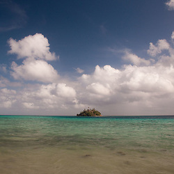Paddy's Island from Devil's Beach, Turtle Island, Yasawa Islands, Fiji