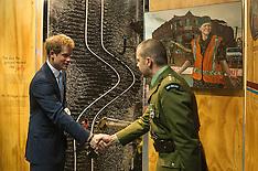 Christchurch-Prince Harry visits Quake City Museum