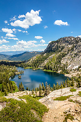 """Warren Lake 5"" - Photograph of Warren Lake in the Tahoe area back country."