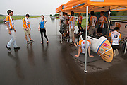 Het team wacht tot beter weer. HPT Delft en Amsterdam is in Senftenberg voor de recordpogingen op de Dekra baan.<br />