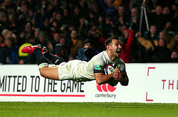 Danny Care of England scores a try - Mandatory by-line: Robbie Stephenson/JMP - 18/11/2017 - RUGBY - Twickenham Stadium - London, England - England v Australia - Old Mutual Wealth Series