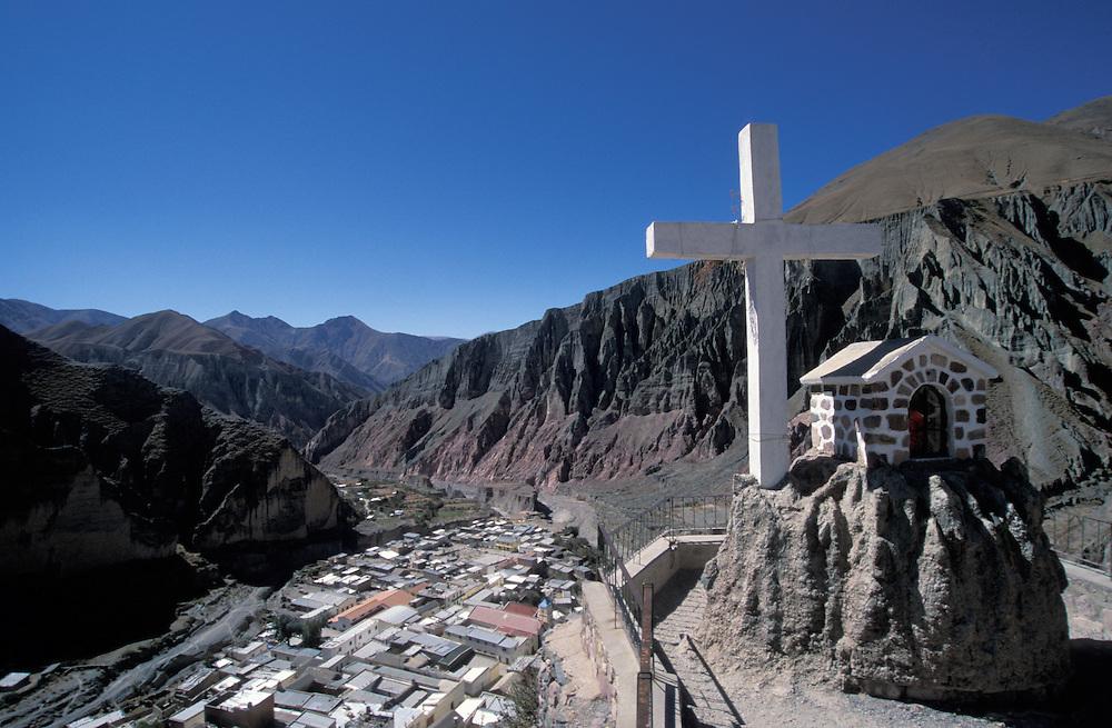 Beautiful scenery around the little village of Iruya, near the border of Bolivia,Atacama desert, Argentina,