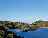 BALEARES Islands.    MENORCA. General view.     ALBUFERA DEL GRAU  ES GRAU  Natural Park. Interior lake. Spain. B1270