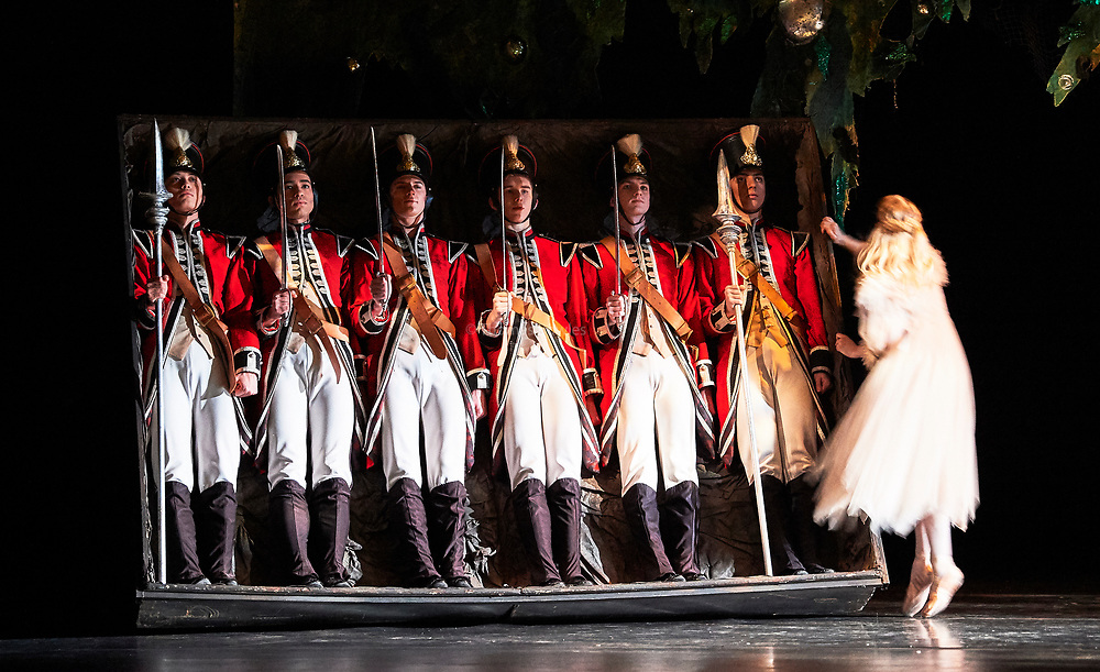 24th November 2017, the Birmingham Royal Ballet present  Sir Peter Wrights Production of the Nutcracker at the Birmingham Hippodrome.