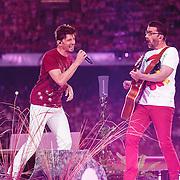 NLD/Amsterdam/20150530 - Toppers concert 2015 Crazy Summer edition, Clouseau, Kris Wauters en Koen Wauters
