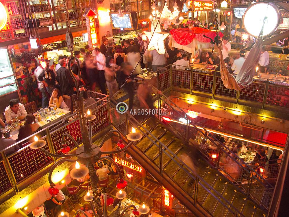 Restaurante Andres Carne de Res em Bogota, Colombia / Restaurant Andres Carne de Res in Bogota, Colombia