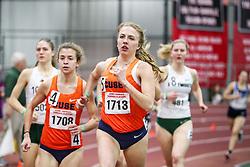 womens Mile, heat 1, Syracuse<br /> BU John Terrier Classic <br /> Indoor Track & Field Meet