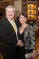 Repro free: At the Gorta Self Help Africa annual Ball at hotel Meyrick, Galway were David and Cait Higgins from Berwick Solicitors. Photo:Andrew Downes