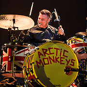 WASHINGTON, DC - March 9th, 2012 -  The Arctic Monkeys open for The Black Keys at the Verizon Center in Washington, DC. (Photo by Kyle Gustafson/For The Washington Post)