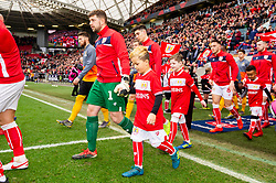 Match mascot prior to kick off - Mandatory by-line: Ryan Hiscott/JMP - 17/02/2019 - FOOTBALL - Ashton Gate Stadium - Bristol, England - Bristol City v Wolverhampton Wanderers - Emirates FA Cup fifth round proper