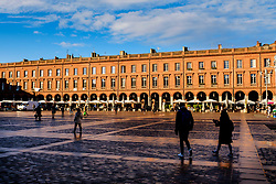 TGeneral view of the Place du Capitol, Toulouse, France<br /> <br /> (c) Andrew Wilson | Edinburgh Elite media