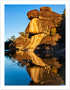 Late afternoon reflections in Reedy Creek, Cranky Rock Nature Reserve [Warialda, NSW, Australia]<br /> <br /> Image ID: 109141. Order by email to orders@girtbyseaphotography.com quoting the image ID, preferred print size & media. Current standard size prices are published on the Pricing page. Custom sizes also available.