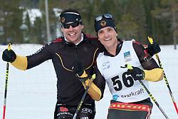 HAUCH Max, FLEIG Martin, GER, Short Distance Biathlon, 2015 IPC Nordic and Biathlon World Cup Finals, Surnadal, Norway