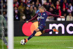 March 6, 2018 - Paris, U.S. - Kylian Mbappe (PSG)  during the Champions League match Real Madrid at Paris Saint-Germain on March 6, 2018 in Paris, France. (Photo by JB Autissier/Panoramic/Icon Sportswire) ****NO AGENTS---NORTH AND SOUTH AMERICA SALES ONLY****NO AGENTS---NORTH AND SOUTH AMERICA SALES ONLY* (Credit Image: © Jb Autissier/Icon SMI via ZUMA Press)