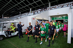 Before 1st Leg football match between NK Olimpija Ljubljana and HJK Helsinki in 3rd Qualifying Round of UEFA Europa League 2018/19, on August 9, 2018 in SRC Stozice, Ljubljana, Slovenia. Photo by Urban Urbanc / Sportida