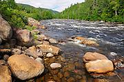 Rivière Sainte-Marguerite (a trout river)<br /> Parc National du Saguenay<br /> Quebec<br /> Canada