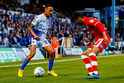 Kyle Bennett of Bristol Rovers is marked by Reece Grego-Cox of Crawley Town  - Mandatory by-line: Ryan Hiscott/JMP - 14/08/2018 - FOOTBALL - Memorial Stadium - Bristol, England - Bristol Rovers v Crawley Town - Carabao Cup