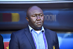 6?10?????????????????.Head Coach Alain Djeumfa of Cameroon is seen before..???????????????2019?6?11?.?????????——E??????????????.?????????????2019??????????E???????????1?0??????.?????????..(SP)FRANCE-RENNES-2019 FIFA WOMEN'S WORLD CUP-GROUP E-CANADA VS CAMEROON..(190611) -- MONTPELLIER, June 11, 2019  the group E match between Canada and Cameroon at the 2019 FIFA Women's World Cup in Montpellier, France on June 10, 2019. Canada won 1-0. (Credit Image: © Xinhua via ZUMA Wire)