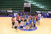 Sassari 20 Agosto 2012 - Qualificazioni Eurobasket 2013 - Allenamento<br /> Nella Foto : TEAM ITALIA<br /> Foto Ciamillo/Castoria