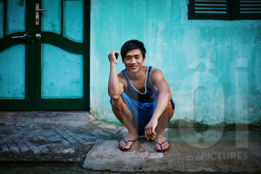 Portraits of ordinary people, Hanoi, summer 2011