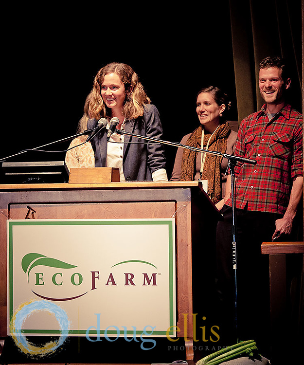 Esalen Institute Farm and Garden Crew at EcoFarm Conference, Asilomar.