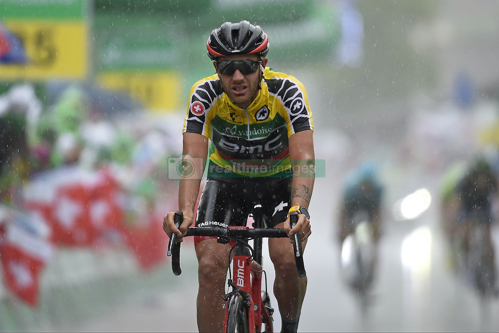 June 16, 2017 - Locarno / La Punt, Schweiz - CARUSO Damiano (ITA) Rider of BMC Racing Team during stage 6 of the Tour de Suisse cycling race, a stage of 166 kms between Locarno and La Punt on June 15, 2017 in La Punt, Switserland, 15/06/2017  (EQ Images) SWITZERLAND ONLY (Credit Image: © Vincent Kalut/EQ Images via ZUMA Press)
