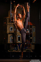 Dance As Art New York City Photography Project Astolat Castle Series with dancer, Daniel White