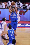DESCRIZIONE : Biella Beko All Star Game 2012-13<br /> GIOCATORE : Riccardo Moraschiani<br /> CATEGORIA : Tecnica<br /> SQUADRA : Italia Nazionale Maschile<br /> EVENTO : All Star Game 2012-13<br /> GARA : Italia All Star Team<br /> DATA : 16/12/2012 <br /> SPORT : Pallacanestro<br /> AUTORE : Agenzia Ciamillo-Castoria/A.Giberti<br /> Galleria : FIP Nazionali 2012<br /> Fotonotizia : Biella Beko All Star Game 2012-13<br /> Predefinita :