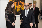 STANLEY TUCCI, Dancing Away – Photographic works by Mikhail Baryshnikov. Exhibition hosted by ContiniArtUK and  jewellery designers Damiani. New Bond St. London. 27 November 2014