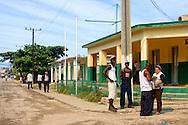 Street scene in Mariel, Artemisa, Cuba.