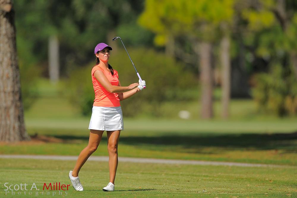Renee Skidmore during second round of the Symetra Tour's Guardian Retirement Championship at Sara Bay in Sarasota, Florida April 27, 2013. ..©2013 Scott A. Miller