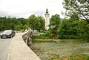 Lake Bohinj, covering 318 hectares (790 acres), is the largest permanent lake in Slovenia. It is located within the Bohinj Valley of the Julian Alps, in the northwestern Upper Carniola region, and part of Triglav National Park.