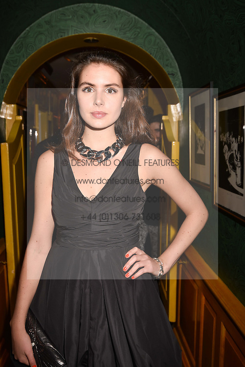 Genevieve Gaunt at the Annabel's Bright Young Things Party held at Annabel's, 44 Berkeley Square, London England. 16 February 2017.