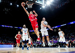 Vladimir Lucic of Serbia during basketball match between National Teams of Italy and Serbia at Day 14 in Round of 16 of the FIBA EuroBasket 2017 at Sinan Erdem Dome in Istanbul, Turkey on September 13, 2017. Photo by Vid Ponikvar / Sportida