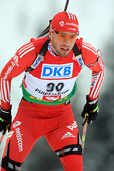 Ivan Joller (SUI) at Men 20 km Individual at E.ON Ruhrgas IBU World Cup Biathlon in Hochfilzen (replacement Pokljuka), on December 18, 2008, in Hochfilzen, Austria. (Photo by Vid Ponikvar / Sportida)