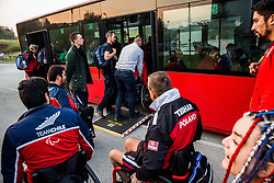Busses during SPINT 2018 - World Para Table Tennis Championships, on October 20, 2018, in Arena Zlatorog, Celje, Slovenia. Photo by Vid Ponikvar / Sportida
