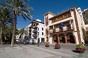 The capital of La Gomera, San Sebastian, La Gomera, Canary Islands, Spain