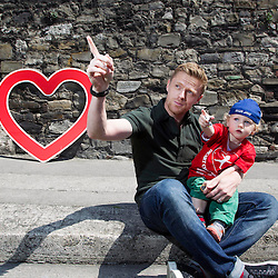 Damien Duff Heart Children Ireland